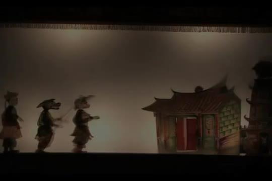 東華皮影戲團【西遊記-黑水河遇險】中文影音片段