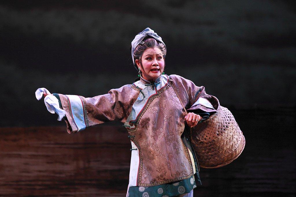 臺灣豫劇團2011年度大戲《美人尖》上