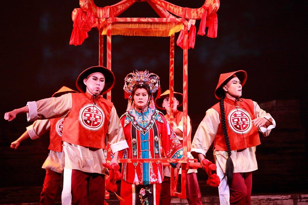 臺灣豫劇團2011年度大戲《美人尖》下