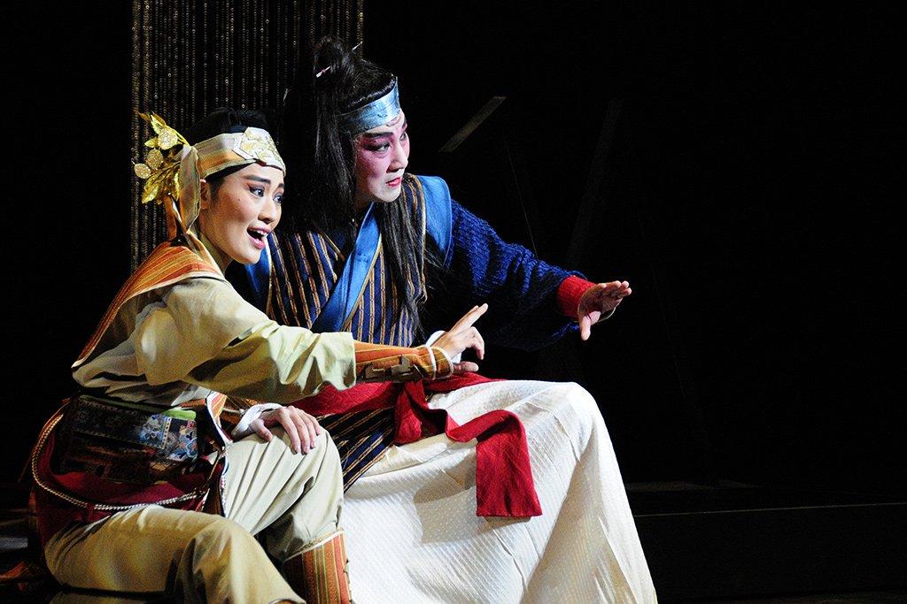 臺灣豫劇團2010年度大戲《花嫁巫娘》影音資料