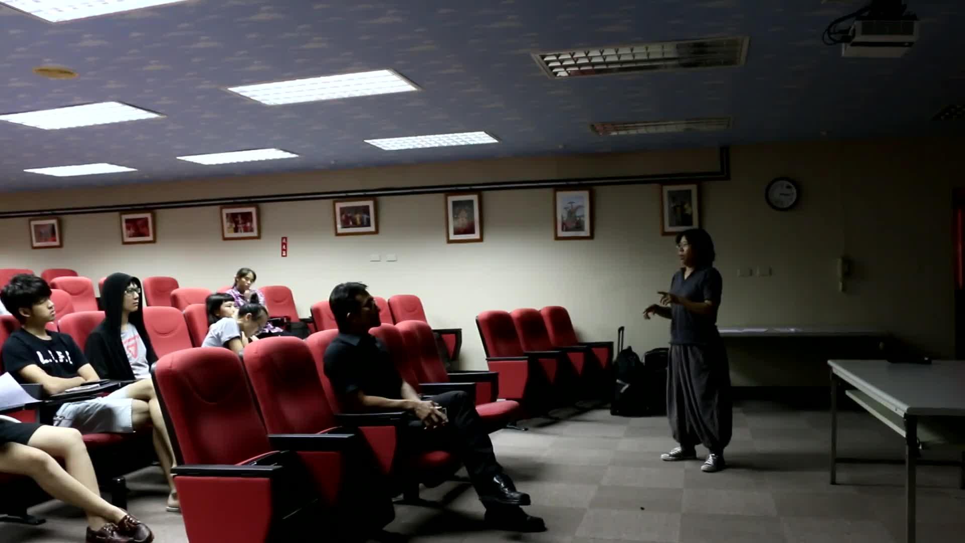 臺灣戲曲中心3D數位模擬預演系統開發計畫影音成果資料-校園說明會-國立台灣戲曲學院劇場藝術學系