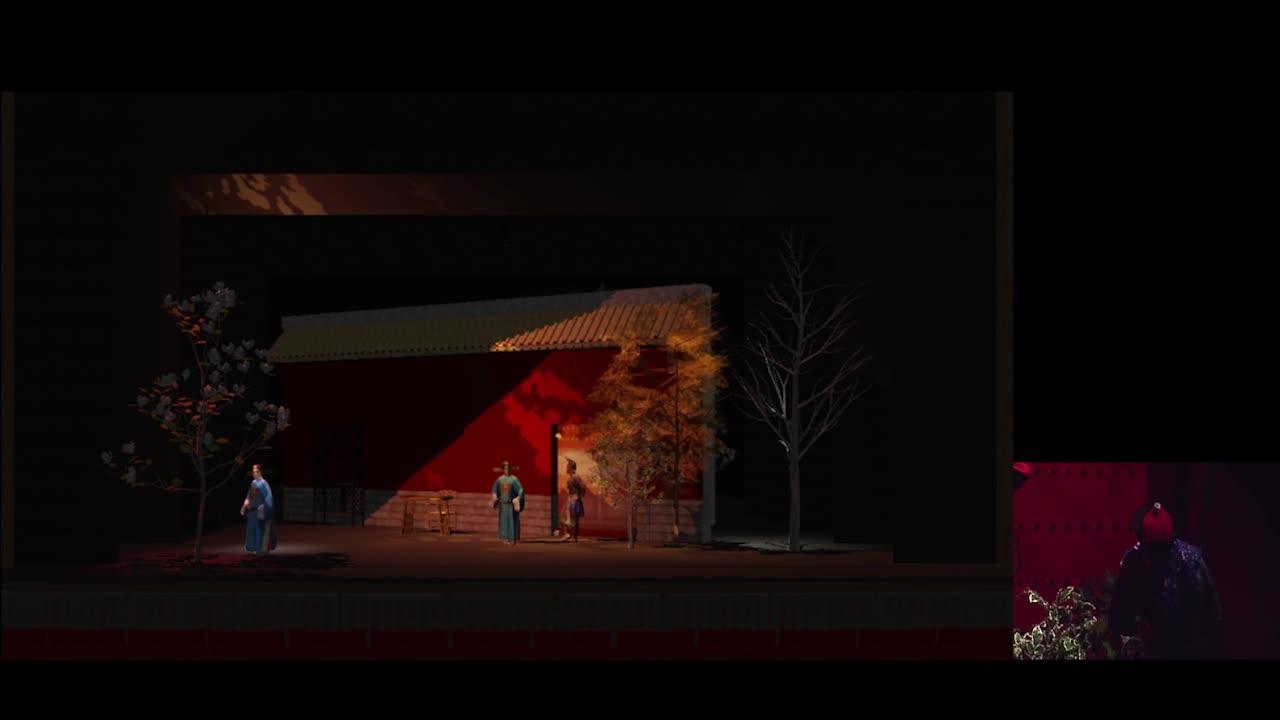 臺灣戲曲中心3D數位模擬預演系統開發計畫影音成果資料-教學影片/10-2 燈光模組展示
