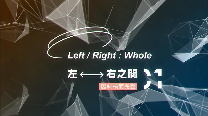 「常/變:斜槓的萬華鏡」特展 - 左/右之間