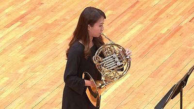 【法國號】 莫札特:D大調第一號法國號協奏曲,作品412  第一樂章 (盧怡婷)