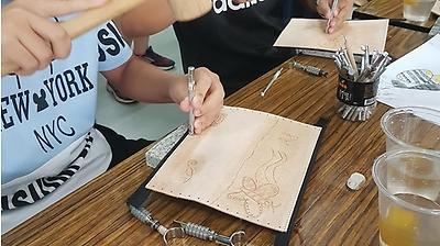 ~108年文化體驗教育計畫 ~姥瑰工坊「圖紋藏在生活裡-玩皮圖壓日記」