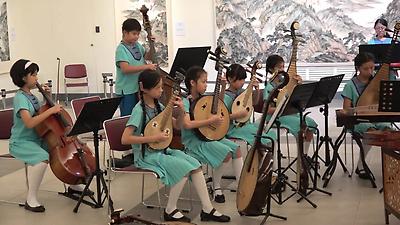 光復國小國樂團於國父紀念館演出